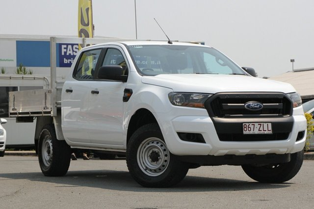 Used Ford Ranger XL Double Cab, Bowen Hills, 2016 Ford Ranger XL Double Cab Cab Chassis