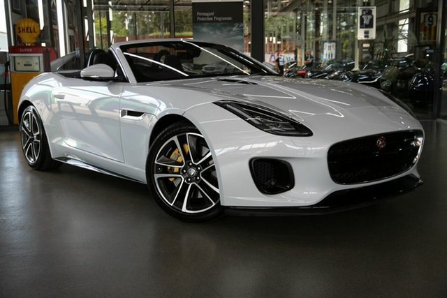 Used Jaguar F-TYPE R-Dynamic Quickshift RWD 221kW, North Melbourne, 2017 Jaguar F-TYPE R-Dynamic Quickshift RWD 221kW Convertible