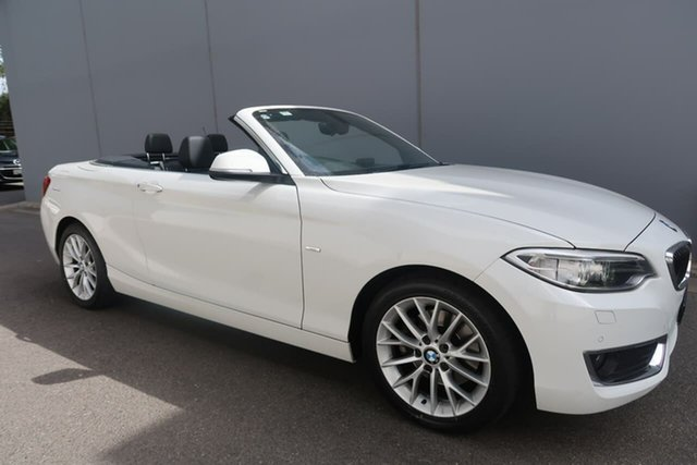 Used BMW 2 Series 220i Luxury Line, Reynella, 2015 BMW 2 Series 220i Luxury Line Convertible