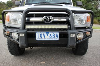 2013 Toyota Landcruiser GXL Double Cab Cab Chassis.