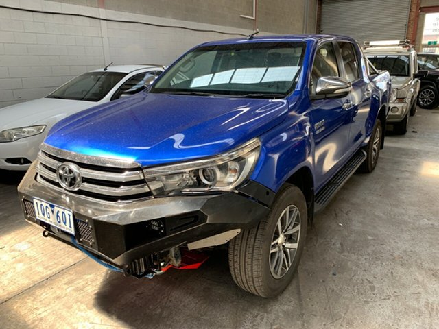 Used Toyota Hilux SR5 Double Cab, Cranbourne, 2017 Toyota Hilux SR5 Double Cab Utility
