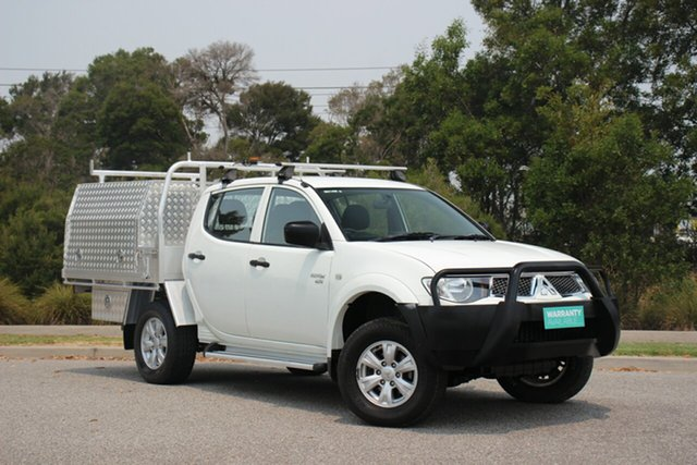 Used Mitsubishi Triton GL-R Double Cab, Officer, 2012 Mitsubishi Triton GL-R Double Cab Utility