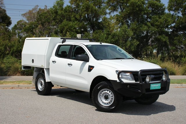 Used Ford Ranger XL Double Cab, Officer, 2015 Ford Ranger XL Double Cab Cab Chassis
