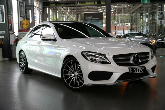 Used Mercedes-Benz C-Class C250 9G-Tronic, North Melbourne, 2017 Mercedes-Benz C-Class C250 9G-Tronic Sedan