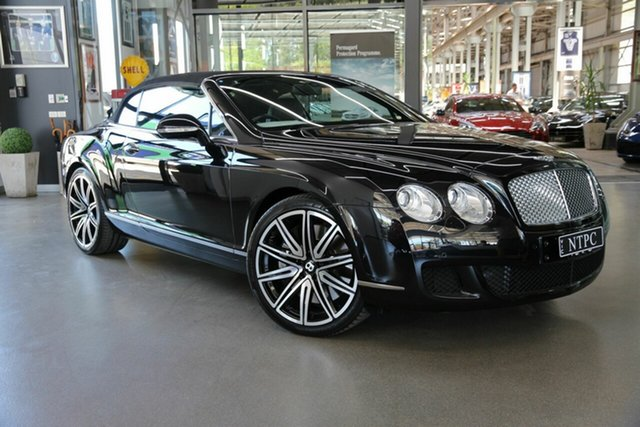 Used Bentley Continental GTC W12, North Melbourne, 2012 Bentley Continental GTC W12 Convertible
