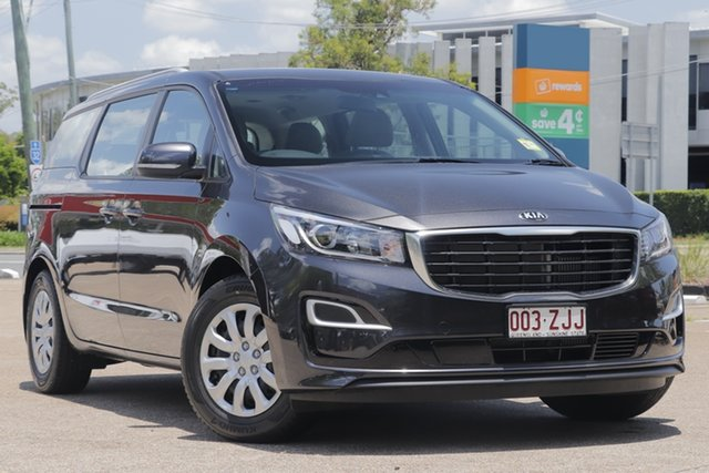 Demonstrator, Demo, Near New Kia Carnival S, Toowong, 2019 Kia Carnival S Wagon