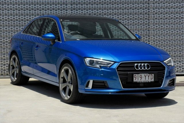 Demonstrator, Demo, Near New Audi A3 40 TFSI S Tronic, Warwick Farm, 2019 Audi A3 40 TFSI S Tronic Sedan