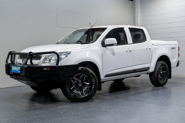 Used Holden Colorado LS (4x4), Slacks Creek, 2015 Holden Colorado LS (4x4) Crew Cab Pickup