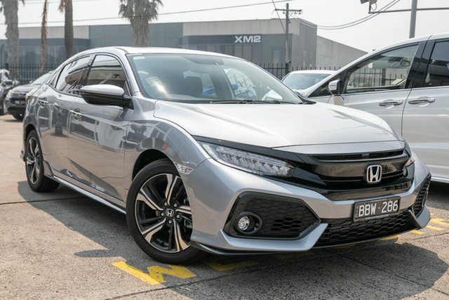 Demonstrator, Demo, Near New Honda Civic RS, Oakleigh, 2019 Honda Civic RS 10th Gen MY19 Hatchback
