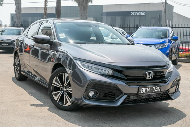 Demonstrator, Demo, Near New Honda Civic VTi-LX, Oakleigh, 2019 Honda Civic VTi-LX 10th Gen MY19 Hatchback