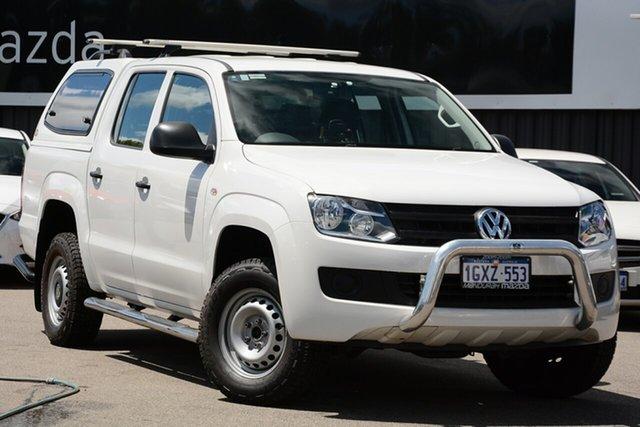 Used Volkswagen Amarok TDI420 (4x2), Mandurah, 2015 Volkswagen Amarok TDI420 (4x2) Dual Cab Utility
