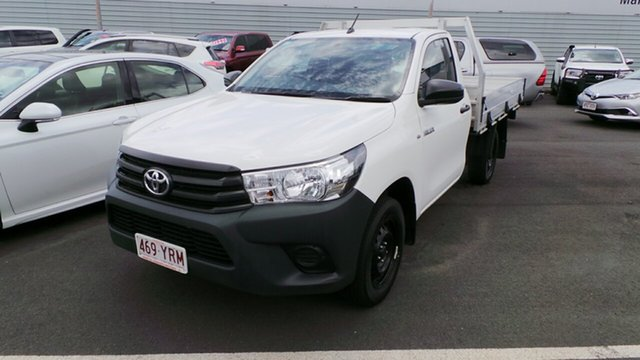 Used Toyota Hilux Workmate 4x2, Morayfield, 2018 Toyota Hilux Workmate 4x2 Cab Chassis