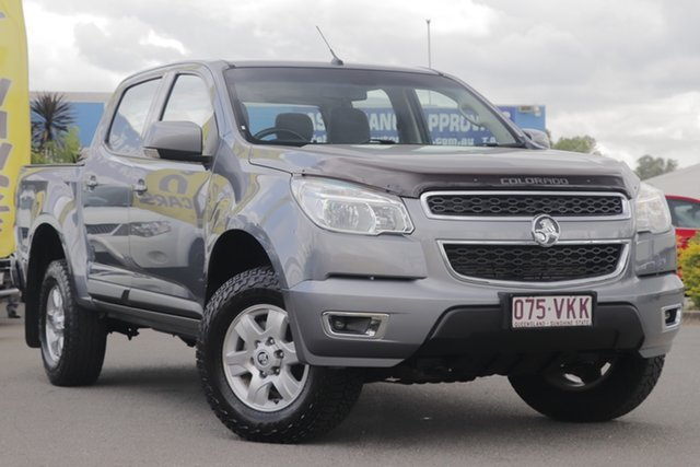 Used Holden Colorado LT Crew Cab, Toowong, 2015 Holden Colorado LT Crew Cab Utility