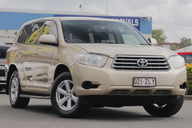 Used Toyota Kluger KX-R 2WD, Toowong, 2008 Toyota Kluger KX-R 2WD Wagon