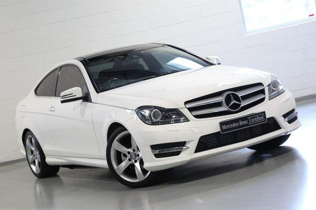 Used Mercedes-Benz C-Class C250 CDI 7G-Tronic, Chatswood, 2014 Mercedes-Benz C-Class C250 CDI 7G-Tronic Coupe