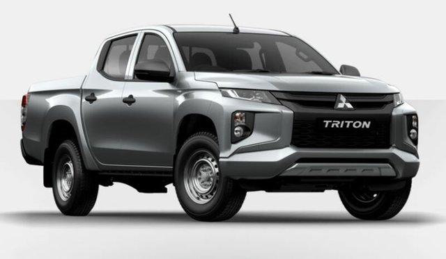 Demonstrator, Demo, Near New Mitsubishi Triton GLX Double Cab, Atherton, 2019 Mitsubishi Triton GLX Double Cab Utility