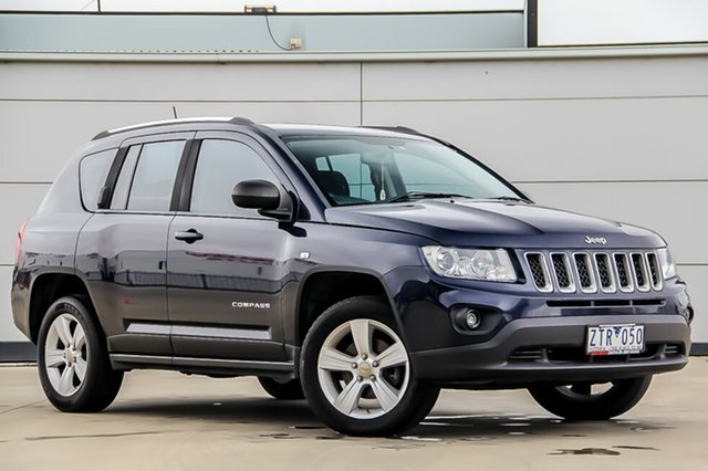 Discounted Used Jeep Compass Sport CVT Auto Stick, Pakenham, 2012 Jeep Compass Sport CVT Auto Stick Wagon