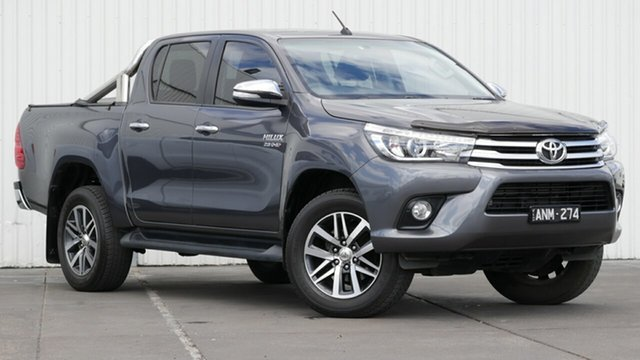 Used Toyota Hilux SR5+ (4x4), Sebastopol, 2017 Toyota Hilux SR5+ (4x4) Dual Cab Utility