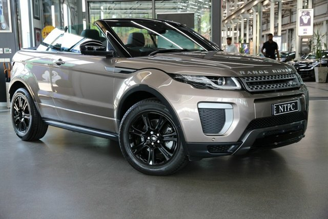 Used Land Rover Range Rover Evoque TD4 180 SE Dynamic, North Melbourne, 2017 Land Rover Range Rover Evoque TD4 180 SE Dynamic Convertible