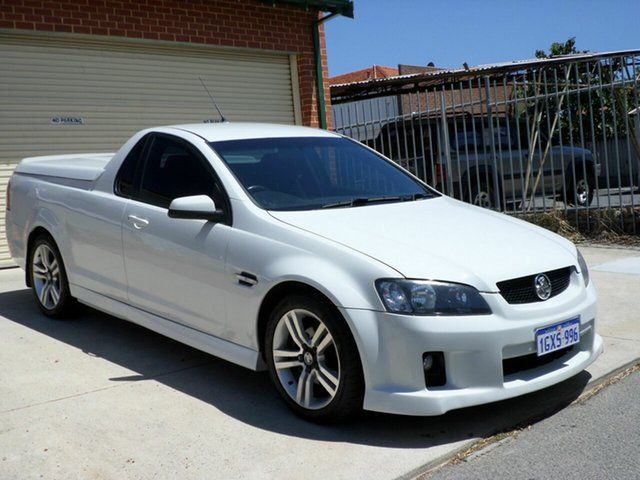 Used Holden Ute SV6 60th Anniversary, Mount Lawley, 2008 Holden Ute SV6 60th Anniversary Utility