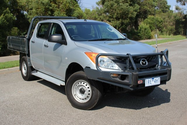Used Mazda BT-50 XT, Officer, 2012 Mazda BT-50 XT Cab Chassis