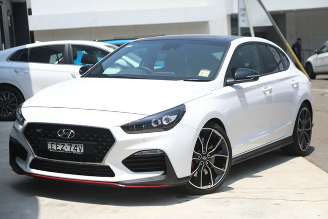 Demonstrator, Demo, Near New Hyundai i30 N Fastback Performance, Brookvale, 2019 Hyundai i30 N Fastback Performance Coupe