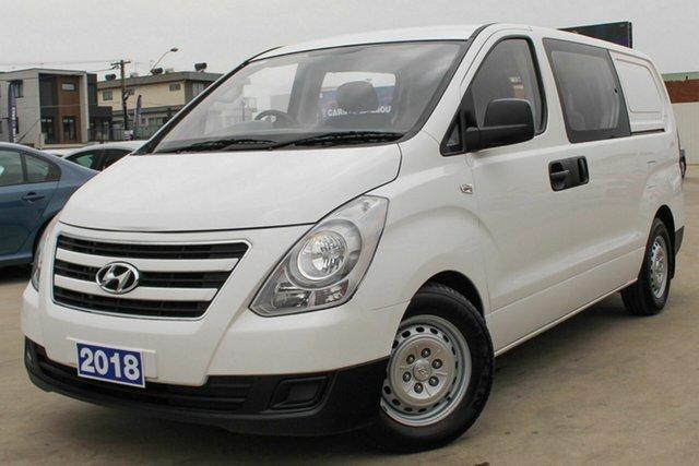 Used Hyundai iLOAD Crew Cab, Coburg North, 2018 Hyundai iLOAD Crew Cab Van