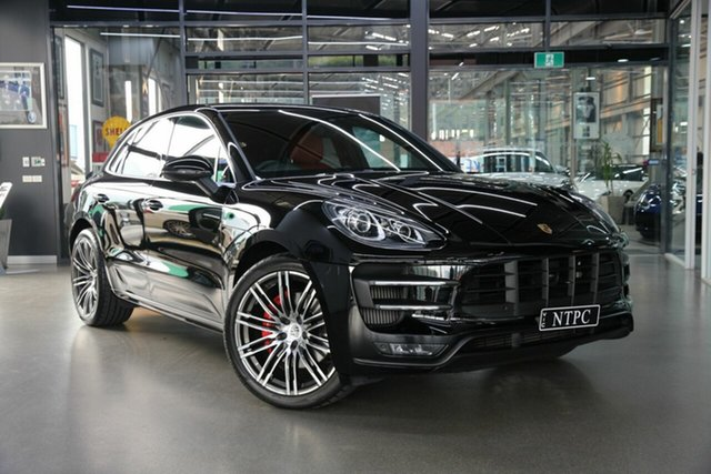 Used Porsche Macan Turbo PDK AWD, North Melbourne, 2015 Porsche Macan Turbo PDK AWD Wagon
