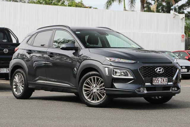 Demonstrator, Demo, Near New Hyundai Kona Elite 2WD, Indooroopilly, 2019 Hyundai Kona Elite 2WD Wagon
