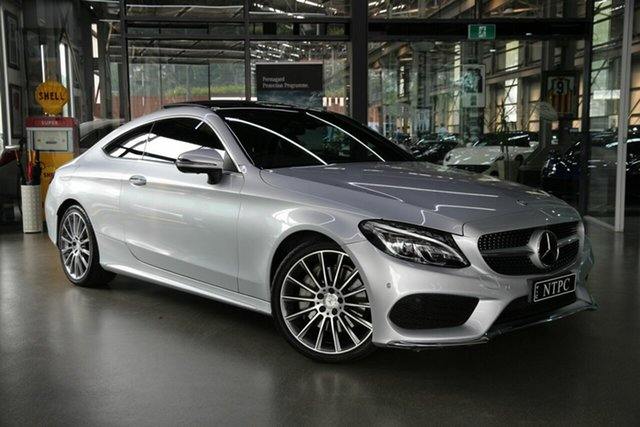 Used Mercedes-Benz C-Class C300 7G-Tronic +, North Melbourne, 2016 Mercedes-Benz C-Class C300 7G-Tronic + Coupe