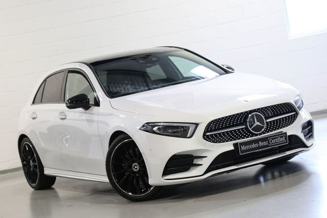 Used Mercedes-Benz A-Class A250 DCT 4MATIC, Chatswood, 2018 Mercedes-Benz A-Class A250 DCT 4MATIC Hatchback