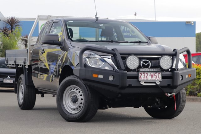 Used Mazda BT-50 XT Freestyle, Toowong, 2015 Mazda BT-50 XT Freestyle Cab Chassis
