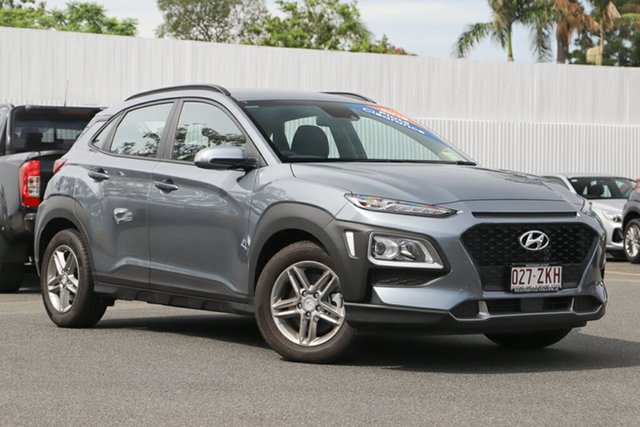 Demonstrator, Demo, Near New Hyundai Kona Active D-CT AWD, Indooroopilly, 2018 Hyundai Kona Active D-CT AWD Wagon
