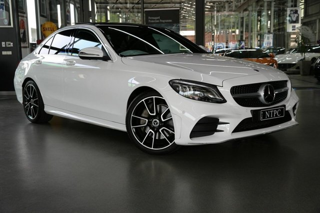 Used Mercedes-Benz C-Class C300 9G-Tronic, North Melbourne, 2018 Mercedes-Benz C-Class C300 9G-Tronic Sedan