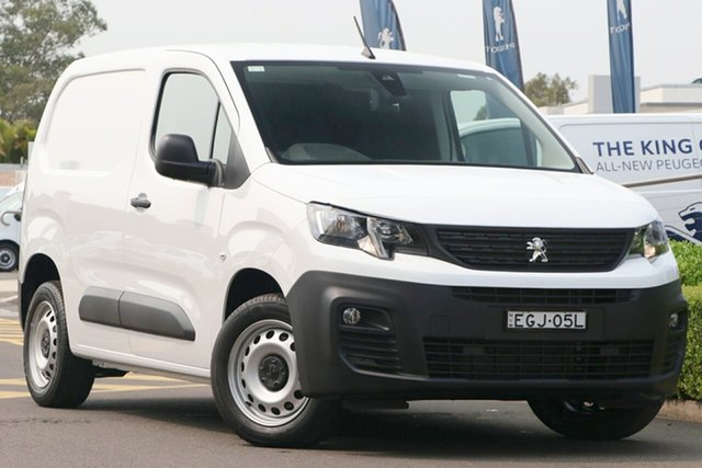 Discounted Demonstrator, Demo, Near New Peugeot Partner 130 Low Roof MWB THP, Warwick Farm, 2019 Peugeot Partner 130 Low Roof MWB THP Van