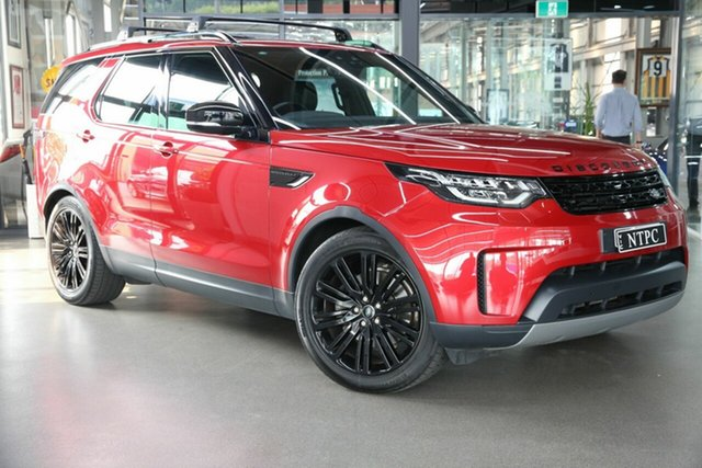 Used Land Rover Discovery TD6 SE, North Melbourne, 2017 Land Rover Discovery TD6 SE Wagon