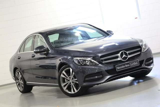 Used Mercedes-Benz C-Class C200 7G-Tronic +, Chatswood, 2014 Mercedes-Benz C-Class C200 7G-Tronic + Sedan