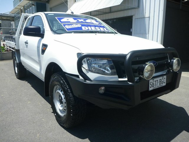 Used Ford Ranger XL Super Cab, Edwardstown, 2015 Ford Ranger XL Super Cab Cab Chassis