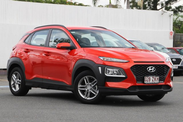 Demonstrator, Demo, Near New Hyundai Kona Active 2WD, Indooroopilly, 2018 Hyundai Kona Active 2WD Wagon