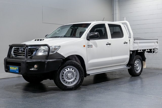 Used Toyota Hilux SR (4x4), Slacks Creek, 2014 Toyota Hilux SR (4x4) Double Cab Chassis