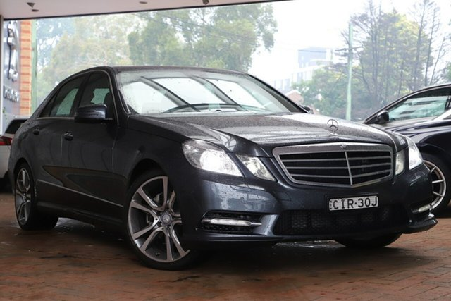 Used Mercedes-Benz E-Class E250 CDI BlueEFFICIENCY 7G-Tronic + Avantgarde, Artarmon, 2012 Mercedes-Benz E-Class E250 CDI BlueEFFICIENCY 7G-Tronic + Avantgarde Sedan