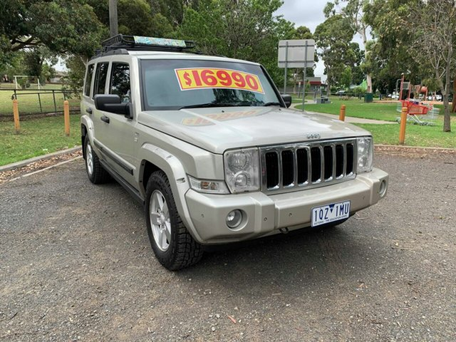 Used Jeep Commander Limited, Cranbourne, 2007 Jeep Commander Limited Wagon