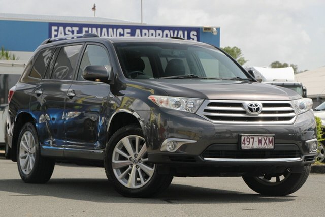 Used Toyota Kluger Grande AWD, Toowong, 2013 Toyota Kluger Grande AWD Wagon