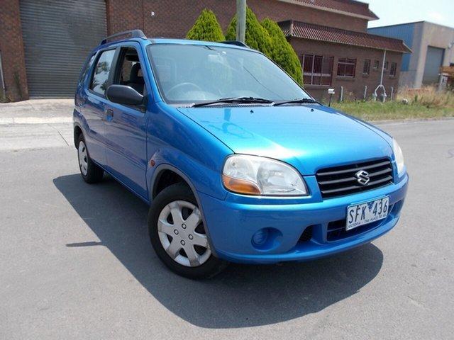 Used Suzuki Ignis GL, Bayswater, 2003 Suzuki Ignis GL Hatchback
