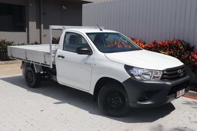 Used Toyota Hilux Workmate Double Cab 4x2, Cairns, 2016 Toyota Hilux Workmate Double Cab 4x2 Utility