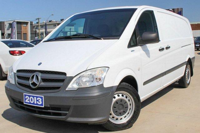 Used Mercedes-Benz Vito 116CDI LWB, Coburg North, 2013 Mercedes-Benz Vito 116CDI LWB Van