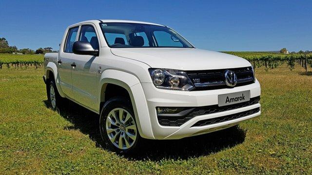 Demonstrator, Demo, Near New Volkswagen Amarok TDI550 4MOTION Perm Core, Tanunda, 2018 Volkswagen Amarok TDI550 4MOTION Perm Core Utility