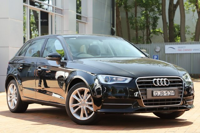 Used Audi A3 Attraction Sportback S Tronic, Artarmon, 2016 Audi A3 Attraction Sportback S Tronic Hatchback