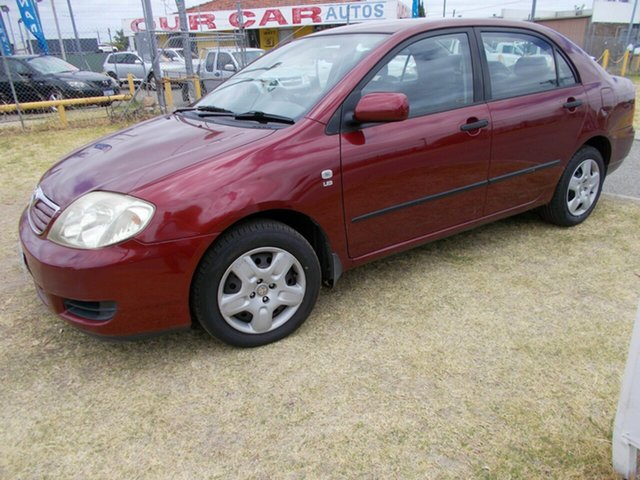 Discounted Used Toyota Corolla, Maddington, 2005 Toyota Corolla Sedan