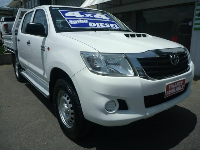 Used Toyota Hilux SR Double Cab, Edwardstown, 2014 Toyota Hilux SR Double Cab Cab Chassis